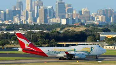 Taking off: Qantas services returned to normal last week, and now the airline is offering passengers who were disturbed by the grounding free tickets to any Australian or New Zealand destination.
