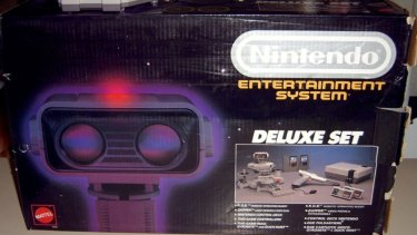 In Australia you could get the NES on its own, with extra controllers or in a massive packaged that also included ROB the interactive robot.