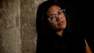 Raw storytelling: Nakkiah Lui stars in her own play <i>Kill the Messenger</i>.