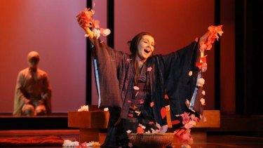 Alexia Voulgaridou as Ciocio San in Opera Australia's Madama Butterfly 2015.