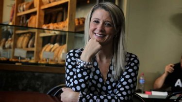 Enough is enough:  Kristina Keneally received nasty mail.