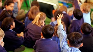 Too young: Experts believe an early start in school can be detrimental to both learning and the student's well-being.