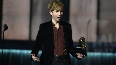 A bewildered Beck has since voiced his enjoyment of Kanye sharing the stage.