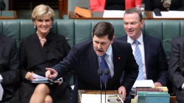 Social Services Minister Kevin Andrews during question time in May.