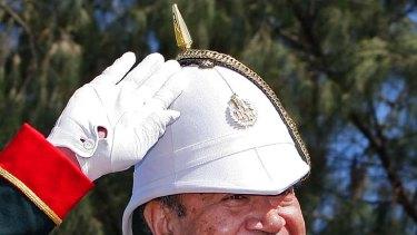 King George Tupou V ... reportedly dead.