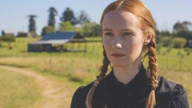 Lizzie Schebesta plays Abigail in <i>The Crucible.</i>