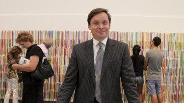 New NGV director Tony Ellwood.