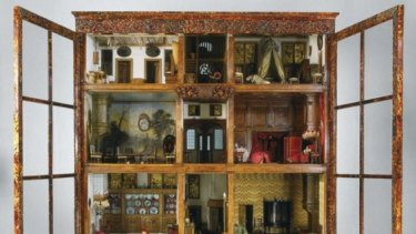 Open shop: The doll's house in the Rijksmuseum that inspired the novel.