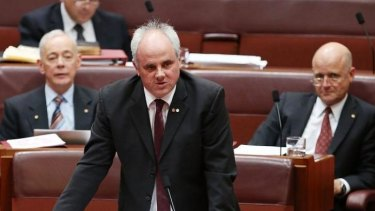 Senator John Madigan says Clive Palmer's treatment of senate staff has set a 'very bad precedent'.