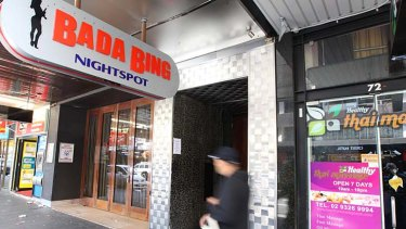 The Bada Bing Nightspot has avoided being issued with a strike under the three-strikes law despite breaching its licence conditions.