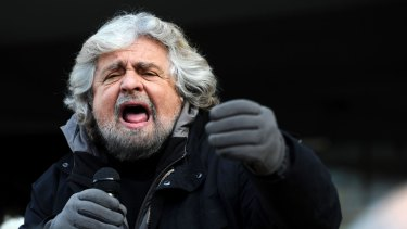 Beppe Grillo is wholly unprepared for government.
