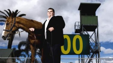 Big winner: NathanTinkler has invested much of his wealth in horse racing.