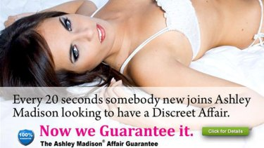 Ashley Madison .... soon to be the world's most popular dating site?