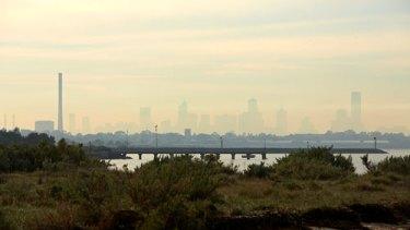 Melbourne smog.
