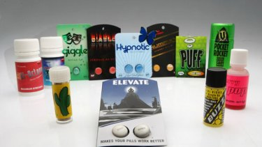 """Examples of some of the """"legal highs"""" sold online."""