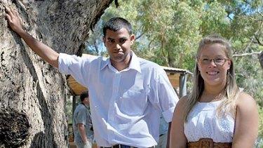 Hale School's Binu Jayawardena, 18, and St Mary's Anglican Girls' School's Emma Hudson, 17, are WA's top students.