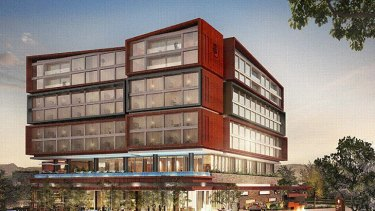 The eight-story hotel is expected to open mid-2014 with 144 rooms, 20 apartments, a restaurant, bar facilities, a fitness centre, outdoor pool area and three function rooms.