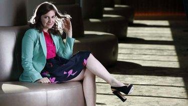 Spot-on ... writer, director and star of the new HBO series <em>Girls</em>, Lena Dunham.