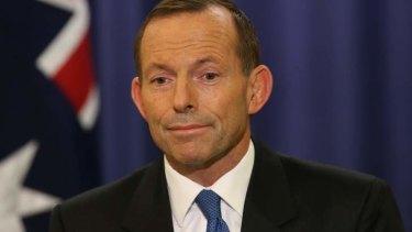 Facing a new challenge: Tony Abbott.