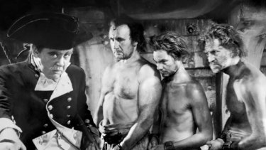 The 1935 movie of Mutiny on the Bounty