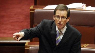 Senator Steve Fielding.