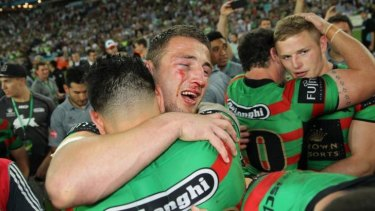 A man for the occasion: English warrior Sam Burgess.