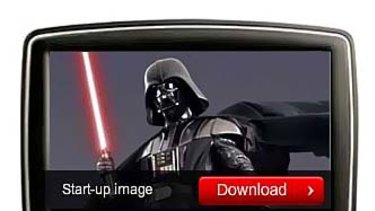 Darth Vader voice skin from TomTom.