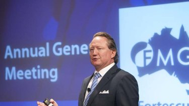Andrew Forrest … his Fortescue Metals Group says it has continued to negotiate with a splinter group of the Yindjibarndi people.
