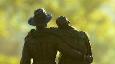 Ted Baillieu says refugees should be embraced as was Gallipoli hero and illegal immigrant John Simpson Kirkpatrick.