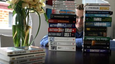 Stiil a favourite read: Matthew Reilly's action and crime stories have been published in 20 different languages.