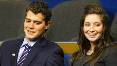 Marriage plans fell through ... Bristol Palin and former fiance Levi Johnston.