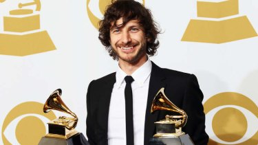 Three-time Grammy award winner Wally de Backer, better known as Gotye.