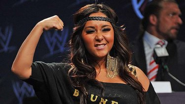 """Reality star and bestselling author ... Nicole """"Snooki"""" Polizzi."""
