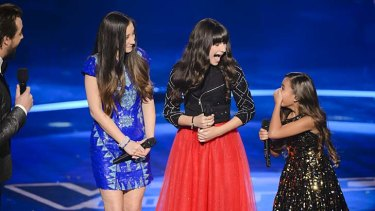 And the winner is ... : Bella, Maddison and Alexa.