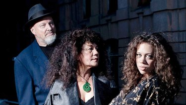 Jazz runs in their blood: Dave MacRae, Joy Yates and Jade MacRae.