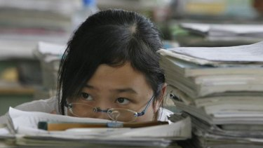 The most myopic school-leavers have been found to live in Asian countries such as China, Japan and South Korea.