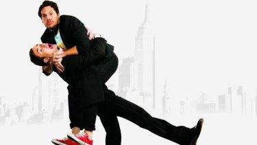 Jason Klarwein and Tama Matheson star in The Odd Couple.