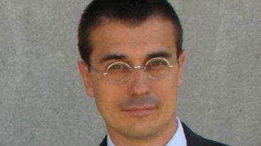 """Idiot in Brussels"" ... Amadeu Altafaj Tardio."
