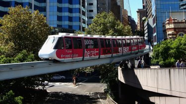 Sydney plans to tear down its monorail.
