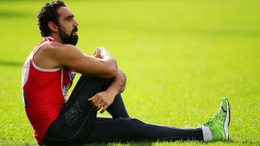 Swans star Adam Goodes.