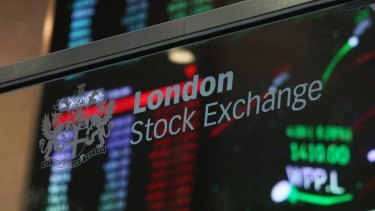 The volume of European shares changing hands today was almost three times the 30-day average.