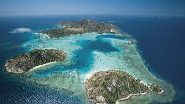 The Great Barrier Reef's Lizard Island, helping keep tsunamis at bay.