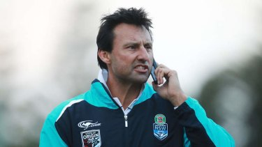 Blues coach Laurie Daley took offence to a Brisbane newspaper describing his side as 'cheats'