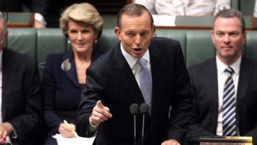 """""""Contracts which have been entered into will be honoured"""": Tony Abbott."""
