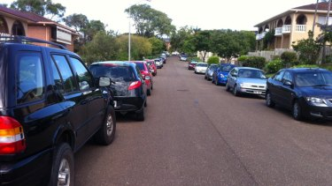 Parking in Banwell Crescent, Carindale.