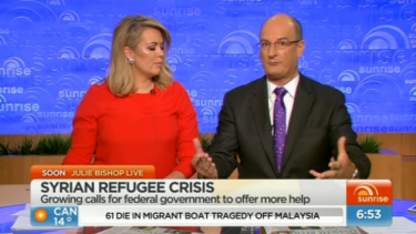 'I think you're cherry-picking there, though Pauline': David Koch challenges Pauline Hanson's assertions on Sunrise.
