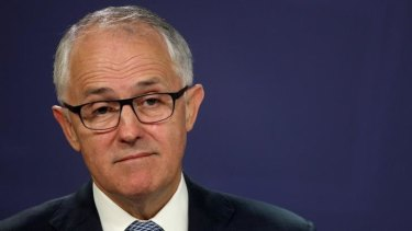 """Communications Minister Malcolm Turnbull: """"I just felt that there was perhaps more of the personal in that correspondence that was published than was needed to..."""""""