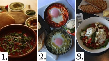 A meal in a pan ... shakshouka.
