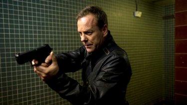 Natural born killer: The <i>24</i> series, starring Keifer Sutherland as Jack Bauer, set a new standard for death tolls.