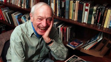 Write of reply: Saul Bellow in 1997 at his office at Boston University, where he taught literature.